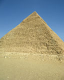 Pyramid of Chefren. Ancient egyptian pyramid in Giza Stock Photo