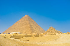 Pyramid of Cheops Royalty Free Stock Photo