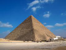 Pyramid of Cheops Royalty Free Stock Images