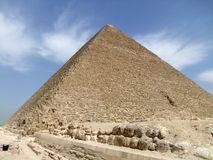 Pyramid of Cheops Royalty Free Stock Photos