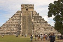 Pyramid Chichen Itza stock photos