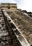 Pyramid of Chichen Itza, Mexico Royalty Free Stock Images