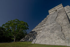 Pyramid Chichen Itza Mexico. The big pyramid in Chichen Itza Mexico Royalty Free Stock Image