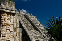Pyramid at Chichen Itza Mexico Royalty Free Stock Image