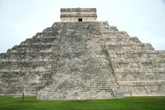 The pyramid at Chichen Itza, Mexico Royalty Free Stock Image