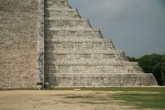 The pyramid at Chichen Itza, Mexico Stock Photo
