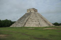 The pyramid at Chichen Itza, Mexico Royalty Free Stock Photography
