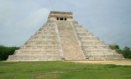 The pyramid at Chichen Itza, Mexico Stock Image