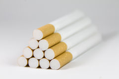 Pyramid cigarettes Royalty Free Stock Images