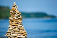 Pyramid on the coast Royalty Free Stock Photo