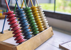 Pyramid colored wooden rings. For kids Royalty Free Stock Image