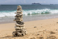 Pyramid of the corals Stock Images