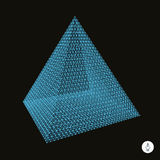 Pyramid. 3d vector illustration Stock Photo
