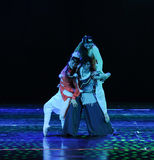 Pyramid-The dance drama The legend of the Condor Heroes Royalty Free Stock Images