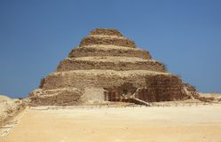 The Pyramid of Djoser in Egypt Stock Photography