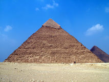 Pyramid in egypt Royalty Free Stock Images