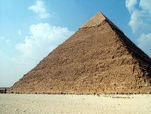 Pyramid in egypt Stock Photo