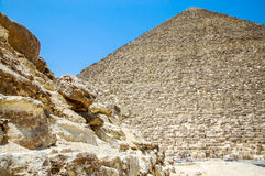 Pyramid in Egypt. Royalty Free Stock Photography