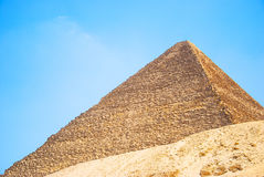 Pyramid of Egypt. View of the Giza Pyramids. Egypt. Cairo. Royalty Free Stock Photography