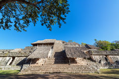 Pyramid in Ek Balam Royalty Free Stock Photos