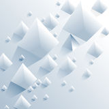 Pyramid elements background Royalty Free Stock Images