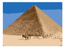 Pyramid/EPS stock illustratie