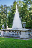 Pyramid fountain in Petergof, St.Petersburg, Russia Royalty Free Stock Image