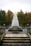 The Pyramid Fountain in Peterhof Stock Photos