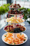 Pyramid Of Fresh Fruits Royalty Free Stock Images