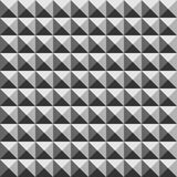 Pyramid geometric seamless pattern Stock Photo