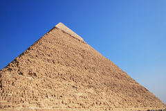 The Pyramid in Giza Stock Image