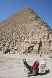 Pyramid of Giza Stock Images