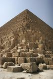 Pyramid of giza. The great cheops pyramid of giza, egypt Royalty Free Stock Photos