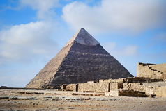 The Pyramid of Giza stock photos