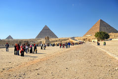 Pyramid in Giza Royalty Free Stock Images
