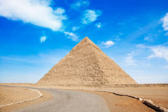 Pyramid of Giza Stock Image