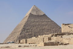 Pyramid of Gizeh Royalty Free Stock Photography