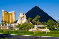 Pyramid Hotel in Las Vegas Royalty Free Stock Image