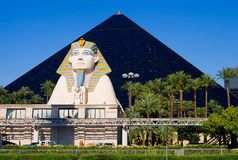 Pyramid Hotel in Las Vegas Stock Photo