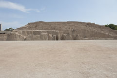 Pyramid of Huaca Pucllana Royalty Free Stock Photography