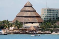 Pyramid hut Royalty Free Stock Image