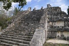 Pyramid i Chitzen Itza Royaltyfri Fotografi