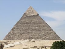 Pyramid of Khafre Stock Images