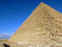 Pyramid of Khafre (Chephren). Giza, Egypt royalty free stock image