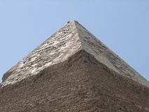 Pyramid of Khafre detail Royalty Free Stock Photo