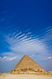 Pyramid of Khafre in Giza Stock Photography