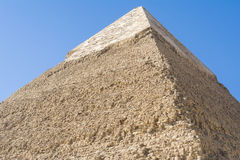 Pyramid of Khafre, Giza, Egypt Royalty Free Stock Photo