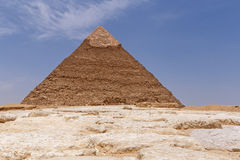 Pyramid of Khafre in Giza. Egypt Royalty Free Stock Images