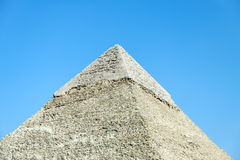 Pyramid of Khafre in Giza, Egypt Royalty Free Stock Images