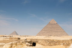Pyramid of Khafre Royalty Free Stock Photography